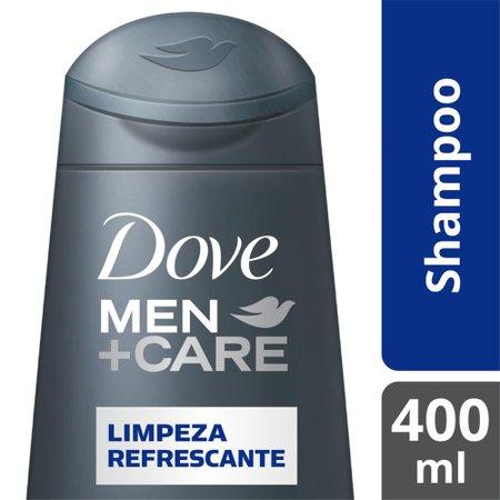 Shampoo Dove Men+Care Limpeza Refrescante 400ml