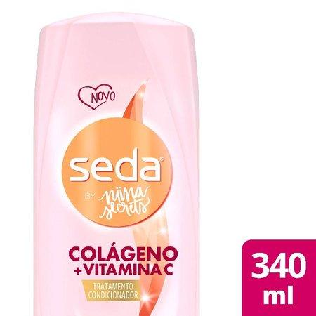 Condicionador Seda Colágeno e Vitamina C by Niina Secrets Frasco 325ml