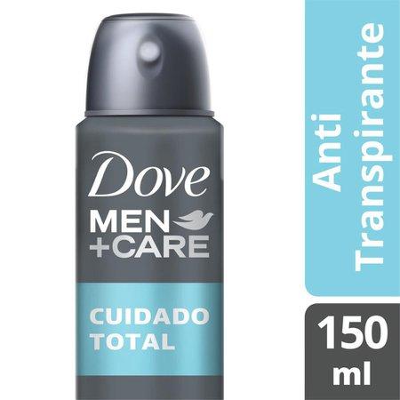 Kit 2 Desodorantes Dove Men+Care Antitranspirante Aerossol Cuidado Total 150ml
