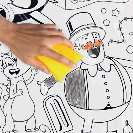 Mundo Bita Tapete De Colorir Com Giz - Fun Divirta-se