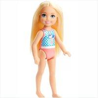 Boneca Barbie Club Chelsea Praia Maiô Sereia