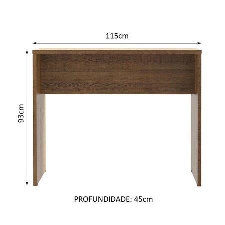 |Bancada para Cozinha Lux Madesa 115 cm - Rustic