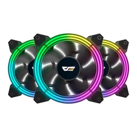 Kit Ventoinhas Aigo DarkFlash CF11 Pro 3in1 ARGB 3x120mm