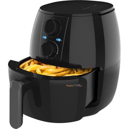 Kit Black Cadence Fritadeira Pratic Fryer 3L e Miniprocessador