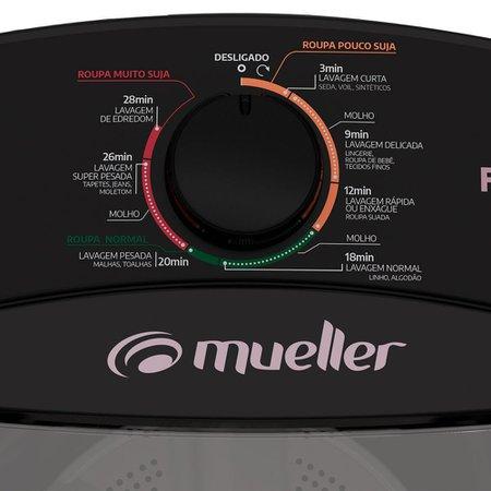 Máquina de Lavar Mueller 10Kg Preto - Family Lite