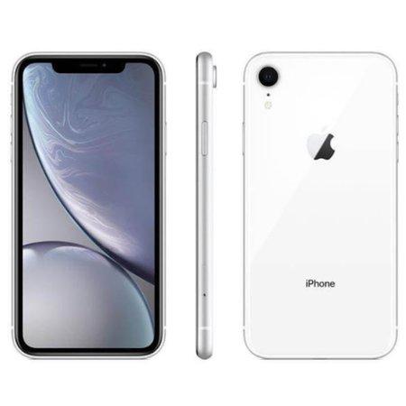 Iphone Apple XR 65GB Câmera 12 MP Tela 6.1 Dual IOS 12 Branco