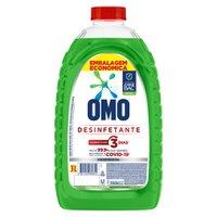 Desinfetante Omo Uso Geral Herbal Frasco 3L Embalagem Econômica