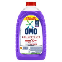 Desinfetante Omo Uso Geral Lavanda Frasco 3L Embalagem Econômica