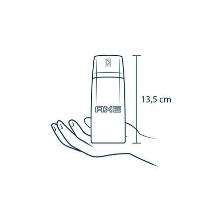 Kit 3 Desodorante Antitranspirante Aerosol Seco Axe Black 152ml