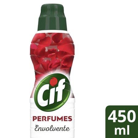 Limpador de Pisos Uso Geral Cif Perfumes Envolvente 450ml