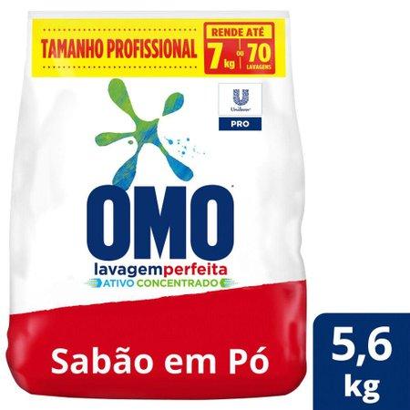 Lava-Roupas em Pó Omo Lavagem Perfeita Pro 5,6kg