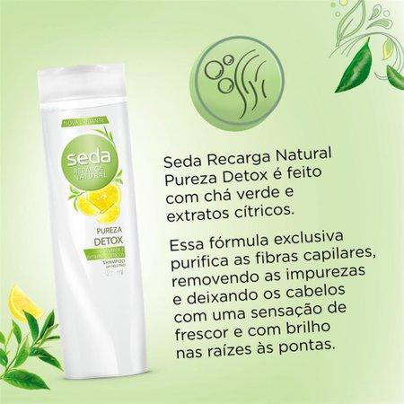 Shampoo Seda Pureza Refrescante 325ml