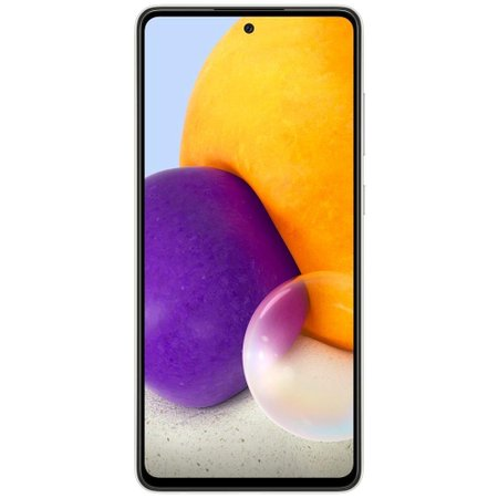 Smartphone Samsung Galaxy A72 128GB 4G Wi-Fi Tela 6.7'' Dual Chip 6GB RAM Câmera Quádrupla + Selfie 32MP - Branco