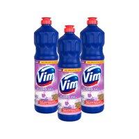 Kit 3 Desinfetantes Vim Multiuso Cloro Gel Lavanda 700ml