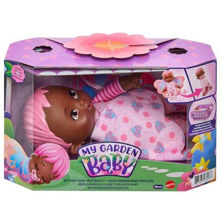 My Garden Baby Minha Primeira Bebê Borboleta Rosa - Mattel