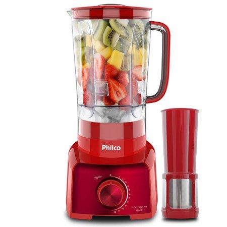 Liquidificador Philco PLQ912V - 1200W - Inox Red