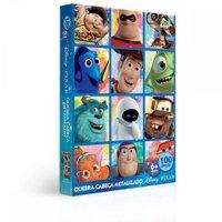 Quebra-Cabeça Puzzle 100 Peças - Pixar - Toyster