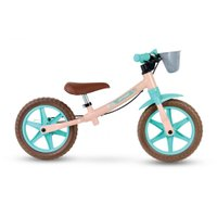 Bicicleta Infantil Aro 12 Sem Pedal Balance Bike Love - Nathor - Rosa