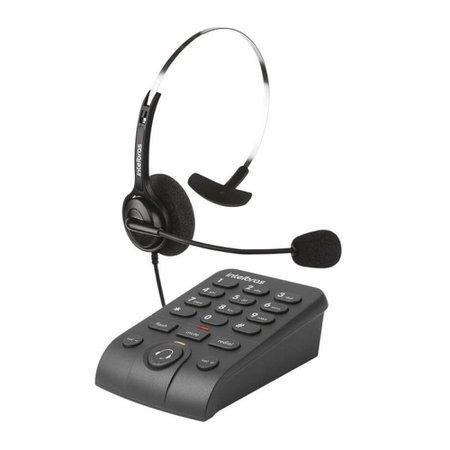 Telefone Headset Hsb-40 Com Fio Intelbras