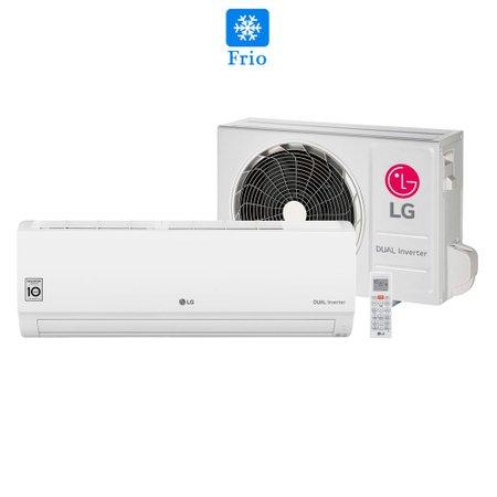 Ar Condicionado Split HW LG Voice 9000 Btu Frio Dual Inverter 220V S4UQ09WA51C.EB2GAMZ