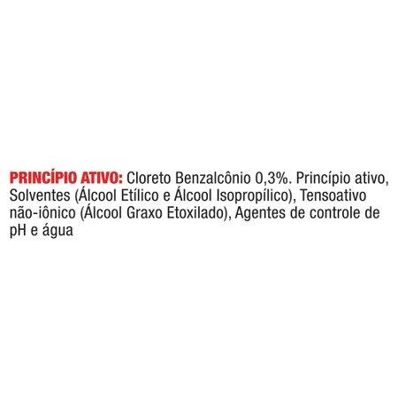 Kit 2 Higienizador Álcool Cif Líquido Sem Perfume 500ml