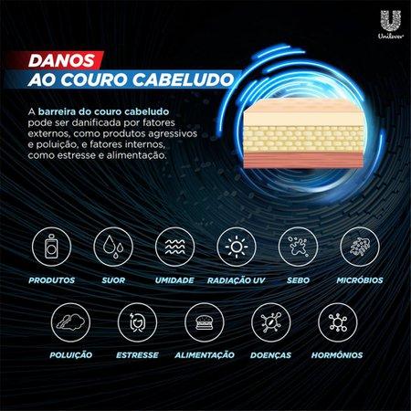 Kit 6 Shampoos Anticaspa Clear Limpeza Diária 2 Em 1 200ml