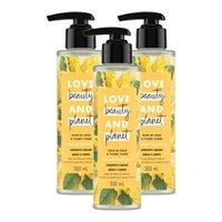 Kit 3 Sabonetes Líquido Love Beauty & Planet Tropical Hydration Mãos e Corpo 300ml