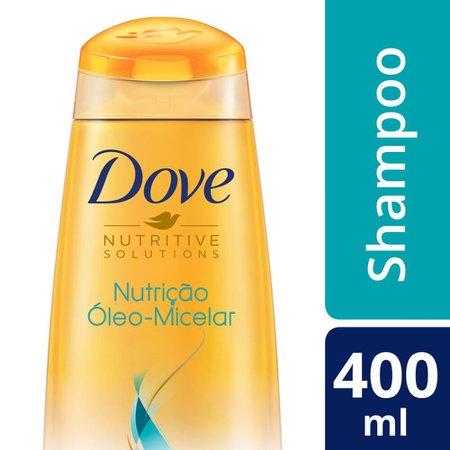 Shampoo Dove Nutritive Solutions Nutrição Óleo-Micelar 400ml