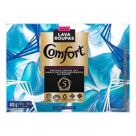Lava-Roupas em Pó Comfort Hydra Sérum 400g