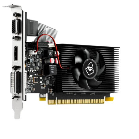 Placa de Vídeo Mancer GeForce GT 710 2GB GDDR3 64Bit, MCR-7102GD3-V1