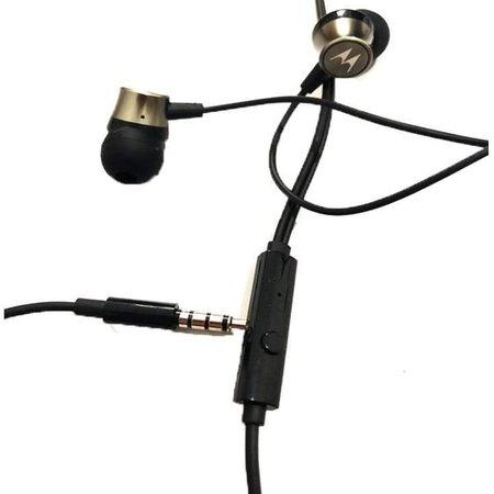 Fone de Ouvido In Ear P2 Original Motorola 3,5MM Preto