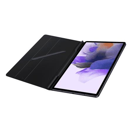 Capa Book Cover Original Samsung Galaxy Tab S7+ S7 Fe Preta