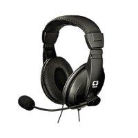 Fone de Ouvido Com Microfone C3tech Voicer Comfort Ph-60bk