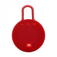 Caixa de Som Bluetooth Clip 3 Red JBL