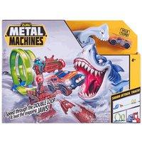 Lançador Pista Metal Machines Shark Attack - Candide