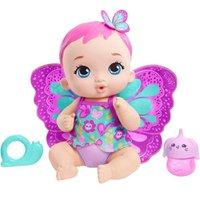 Boneca My Garden Baby Borboleta Faz Xixi Lilás - Mattel
