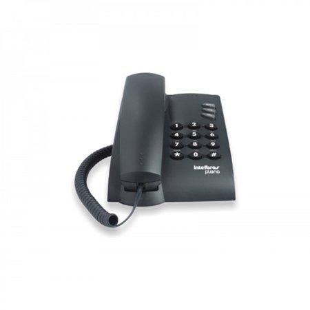 Telefone Intelbras Pleno C/chave Grafite