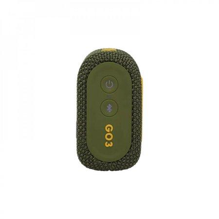 Caixa de Som Go 3 Green Bluetooth JBL