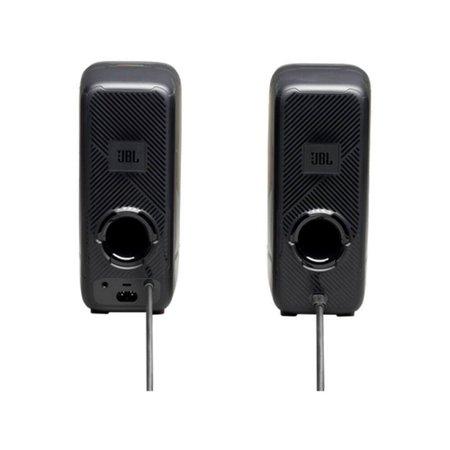 Caixa de Som Gamer Quantum Duo Bluetooth JBL