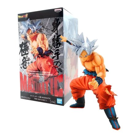 Action Figure - Figure Dragon Ball Super - Goku Instinto Superior - Maximatic - Banpresto
