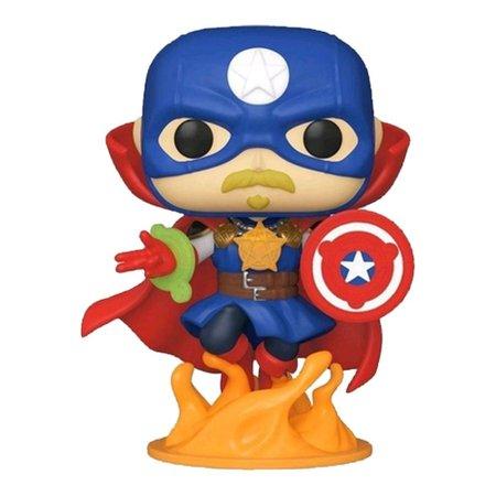 Funko Pop! Marvel: Infinity Warps - Soldier Supreme - Edição Especial