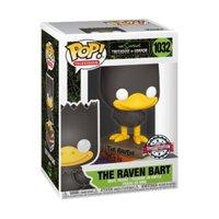 Funko Pop! Television: The Simpsons -Treehouse Of Horror - The Raven Bart - Edição Especial