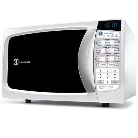 Micro-ondas Electrolux, 20 Litros, 10 Níveis de Potência, Branco - MTD30