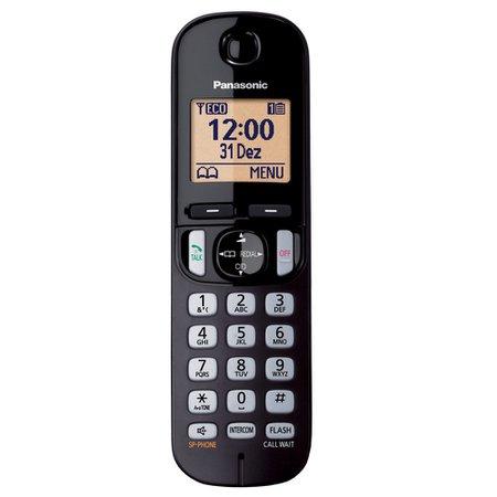 Telefone Panasonic, sem Fio com Identificador de Chamadas - KX-TGC210LBB