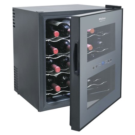 Adega Philco 16 Garrafas, Display Eletrônico Touch - PH16E
