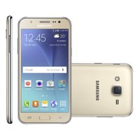 Smartphone Samsung Galaxy J5 Duos, 4G, Android 5.1, 16GB, 13MP, Dourado-J500M/DS