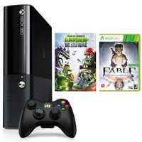 Xbox 360 Microsoft 500GB, Wi-Fi + Plants Vs Zombies + Fable Anniversary