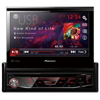 DVD Automotivo Pioneer 7'' Touchscreen, Retrátil, com USB - AVH-3880DVD