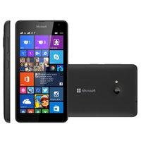 Smartphone Microsoft Lumia 535 Preto, Dual Chip, 3G, 8GB, 5MP, Windows Phone 8.1