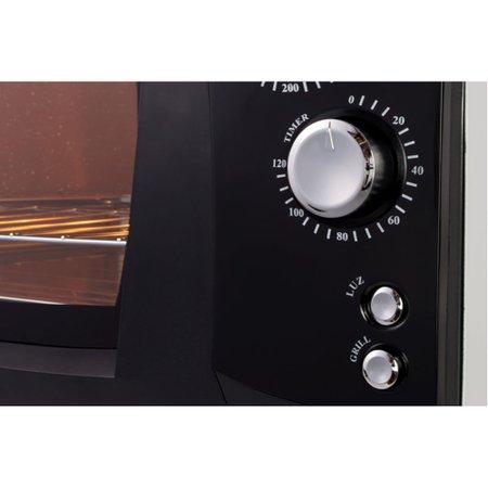 Forno Elétrico Nardelli Super 45, 45 Litros, 1700W, Preto